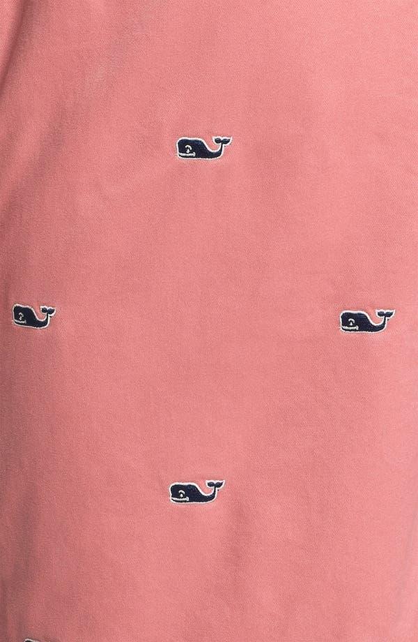 Alternate Image 3  - Vineyard Vines Flat Front Shorts