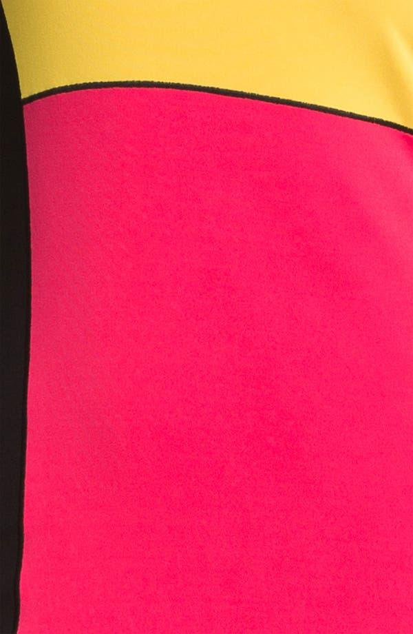 Alternate Image 3  - Eva Varro 'Tribeca' Colorblock Dress