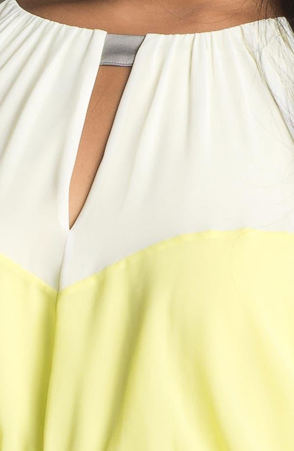 Alternate Image 3  - Vince Camuto Colorblock Maxi Dress (Plus Size)