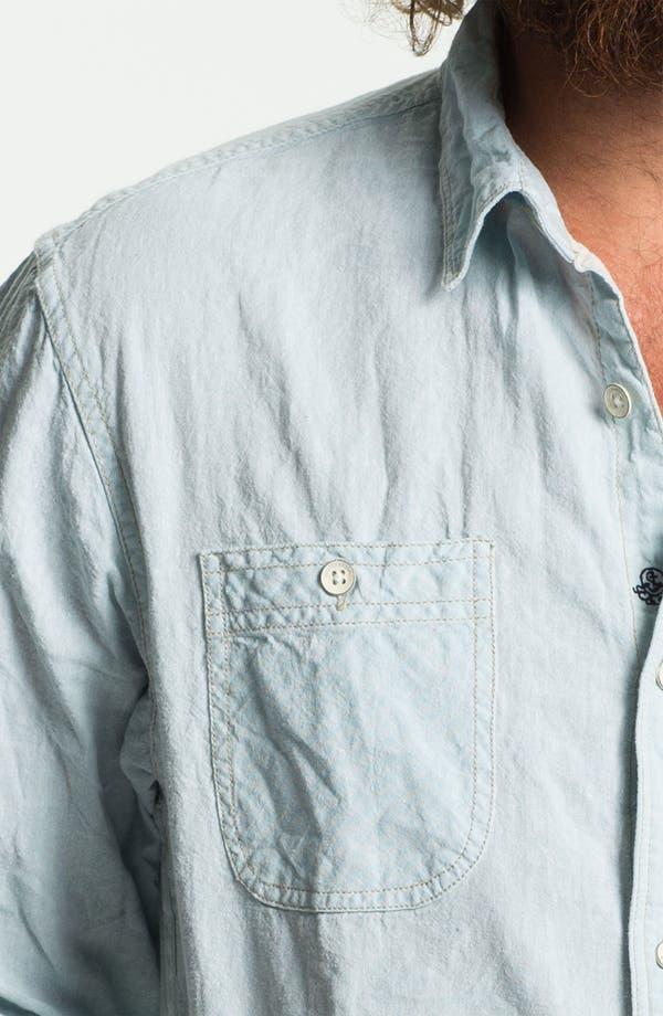 Alternate Image 3  - Scotch & Soda Linen & Cotton Shirt