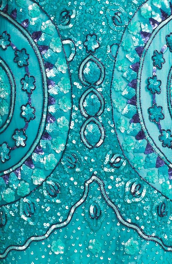 Alternate Image 3  - Aidan Mattox Sleeveless Sequin Tulle Dress