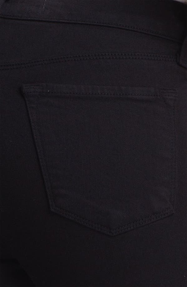 Alternate Image 3  - J Brand Super Skinny Stretch Jeans (Black)
