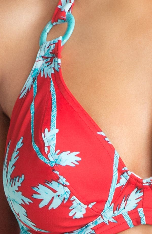 Alternate Image 5  - Freya 'South Pacific' Underwire Halter Bikini Top (D Cup & Up)
