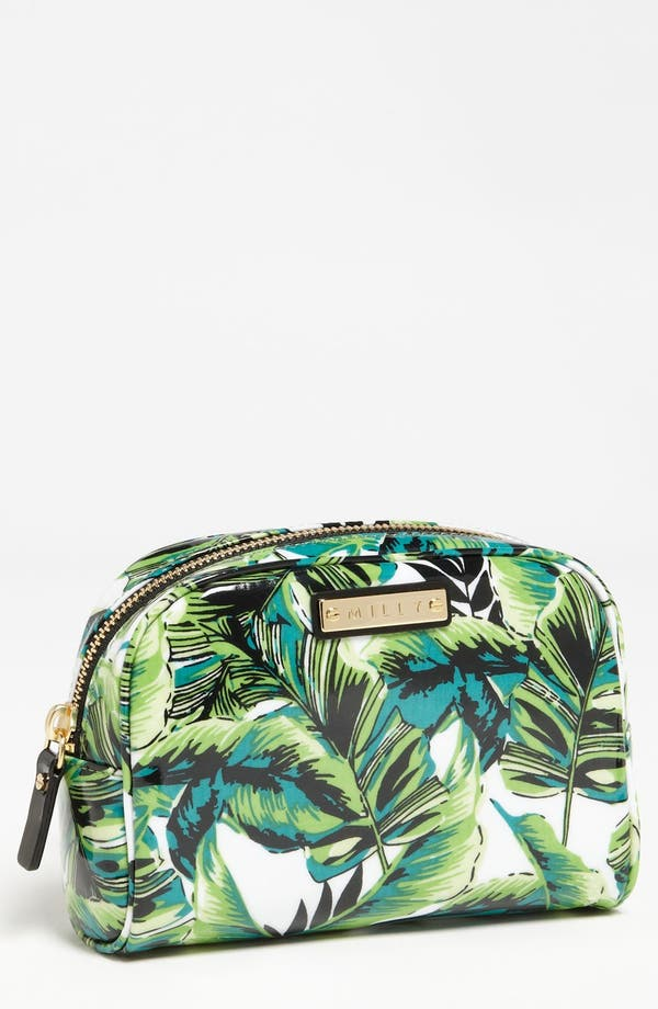 Main Image - Milly 'Banana Leaf' Cosmetics Case