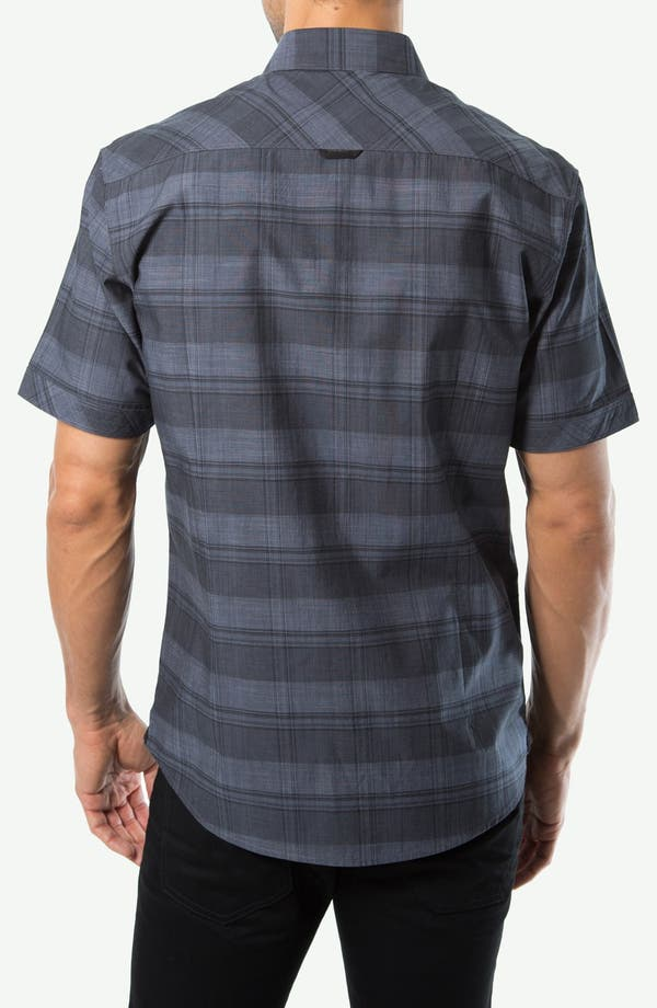 Alternate Image 3  - 7 Diamonds 'We Are Young' Short Sleeve Plaid Shirt