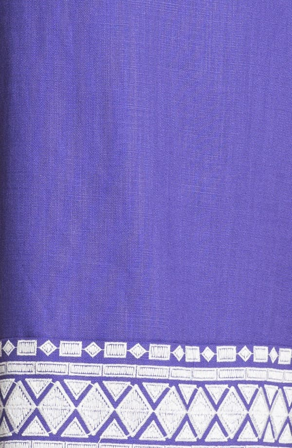 Alternate Image 3  - kate spade new york 'laureen' linen blend shift dress