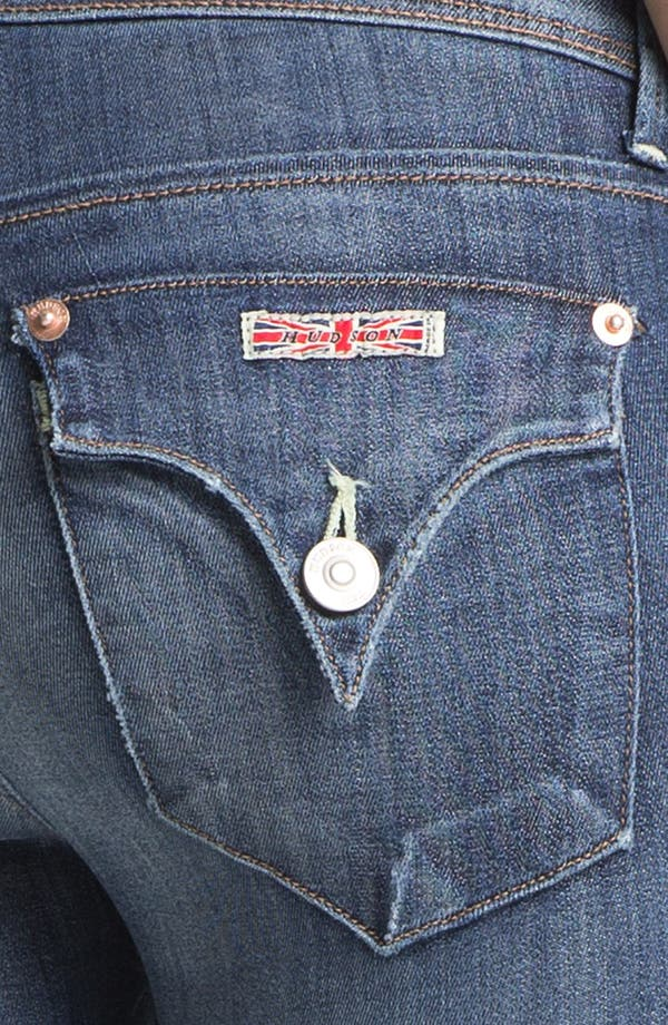 Alternate Image 3  - Hudson Jeans 'Collin' Distressed Skinny Stretch Jeans (Youth Vintage)