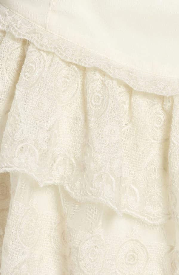 Alternate Image 3  - Leith Tiered Lace Skirt