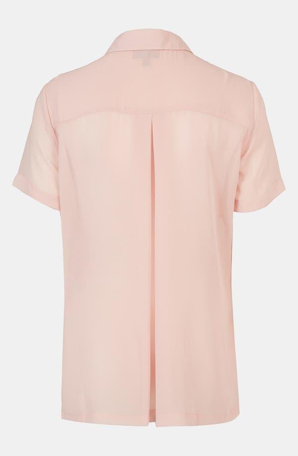 Alternate Image 2  - Topshop Paneled Shirt