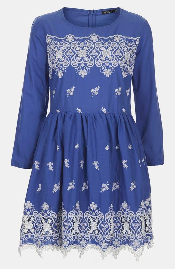 Alternate Image 3  - Topshop Embroidered Dress
