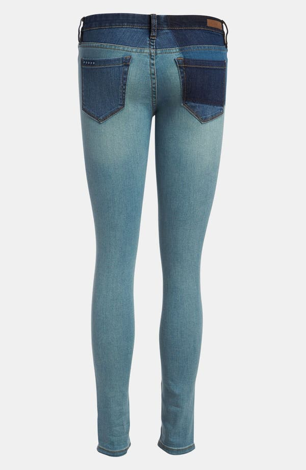 Alternate Image 2  - BLANKNYC 'Spray On' Super Skinny Jeans (Prairy Dog)
