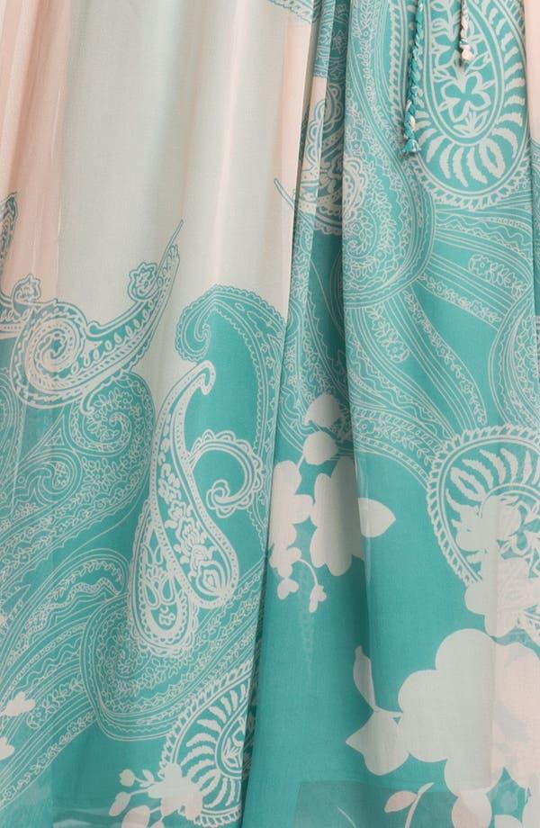 Alternate Image 3  - Presley Skye Print Silk Chiffon Maxi Dress