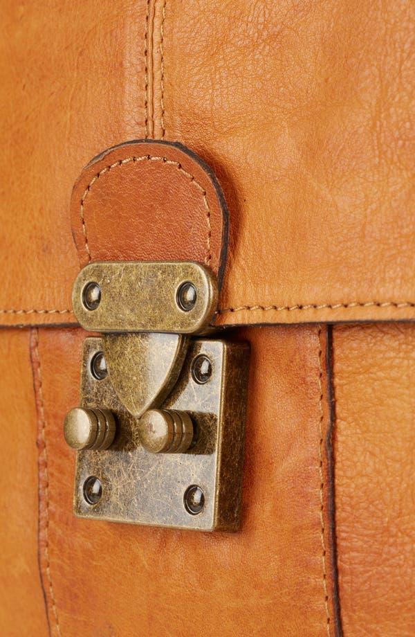 Alternate Image 4  - Topshop 'Triangle Lock' Leather Satchel