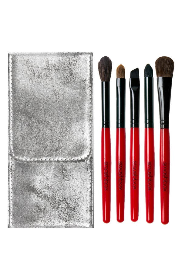 Main Image - Smashbox 'Line & Define' Five-Piece Brush Set (Nordstrom Exclusive)