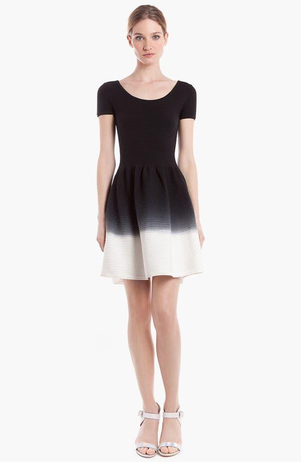 Main Image - sandro 'Ratafia' Cotton Fit & Flare Dress