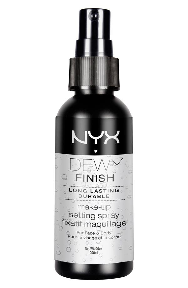 Alternate Image 1 Selected - NYX 'Dewy Finish' Makeup Setting Spray