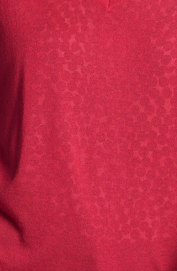 Alternate Image 3  - Halogen® Drop Shoulder V-Neck Sweater