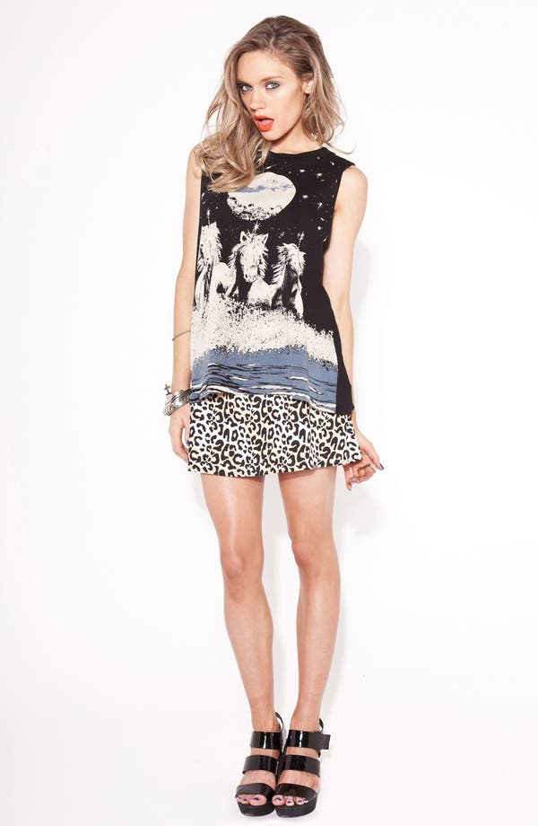 Alternate Image 2  - MINKPINK 'Young Money' A-Line Skirt