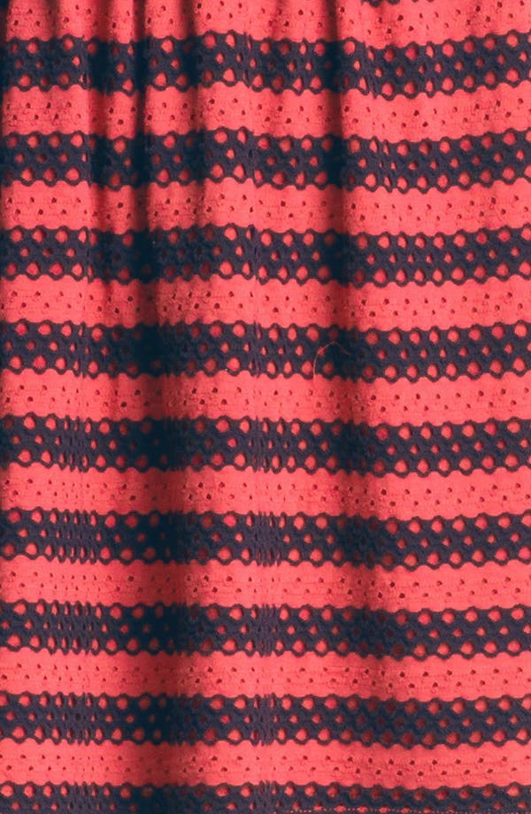 Alternate Image 3  - Eight Sixty Eyelet Stripe Dress (Online Only)