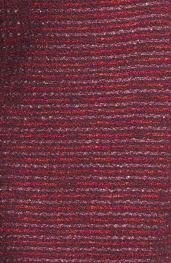 Alternate Image 5  - St. John Collection Organza Ribbon Tweed Knit Pencil Skirt