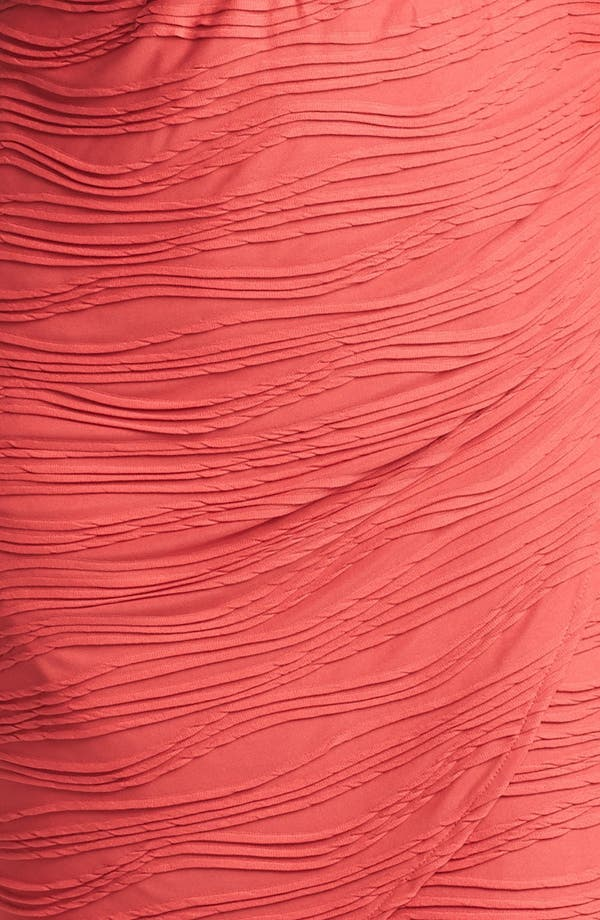 Alternate Image 3  - London Times Textured Short Sleeve Sheath Dress (Plus Size)