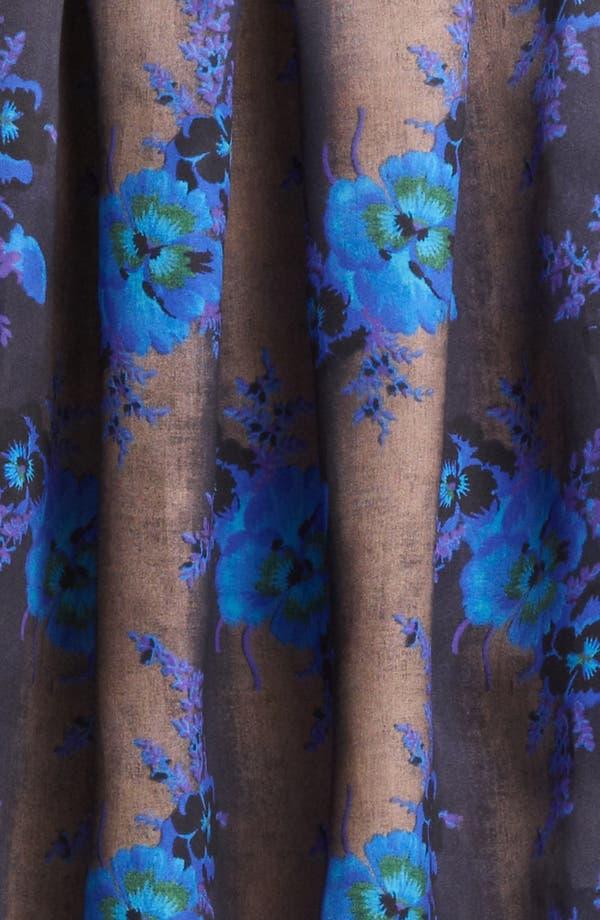 Alternate Image 3  - Christopher Kane Print Silk Organza Skirt