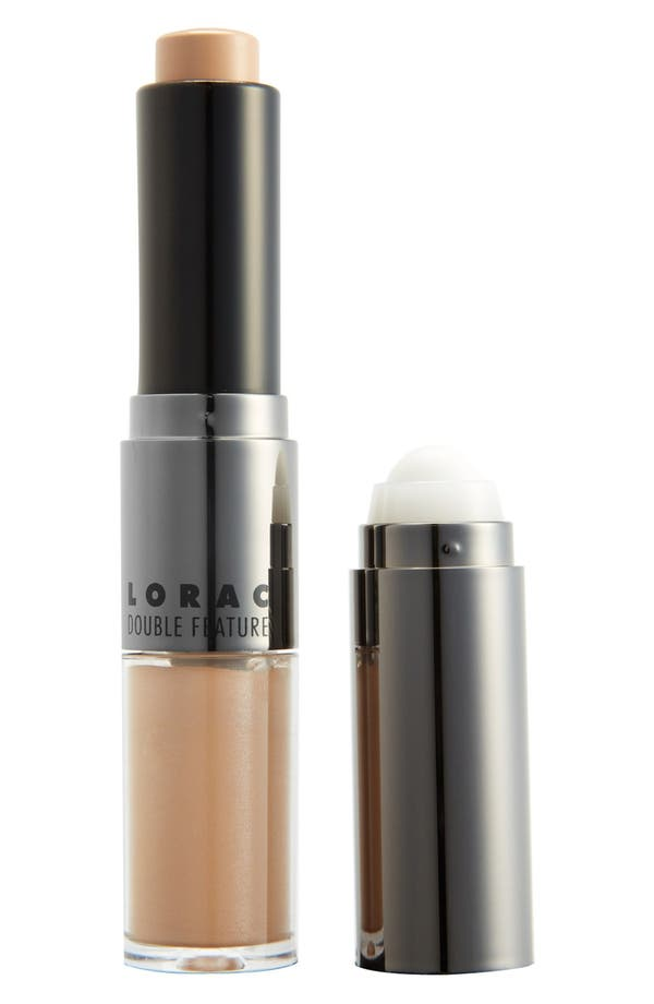 Alternate Image 1 Selected - LORAC 'Double Feature' Concealer & Highlighter