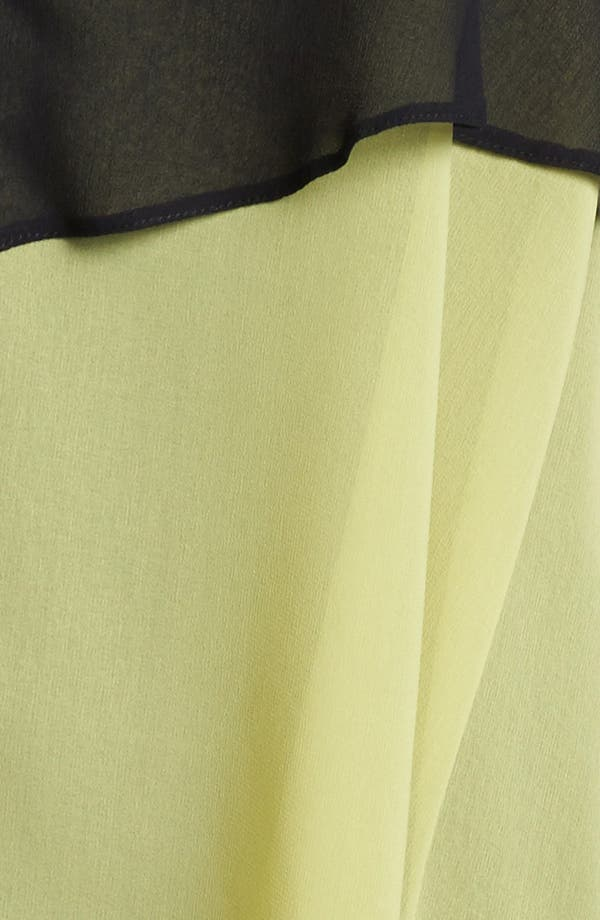 Alternate Image 3  - Evans Sleeveless Layered Chiffon Blouse (Plus Size)
