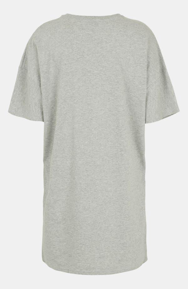 Alternate Image 2  - Topshop Cotton Blend Tunic