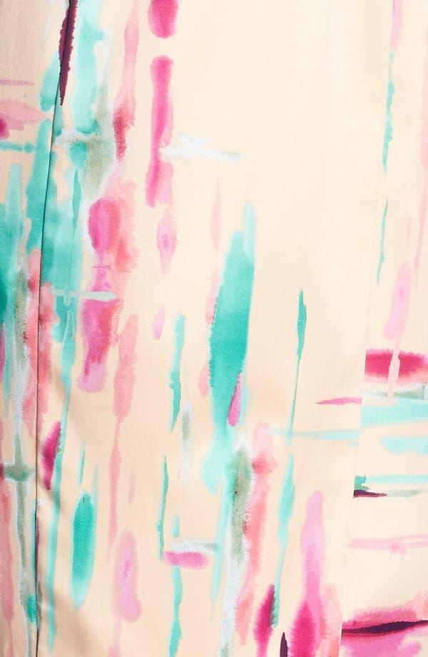 Alternate Image 3  - Jessica Simpson Print Halter Pencil Dress