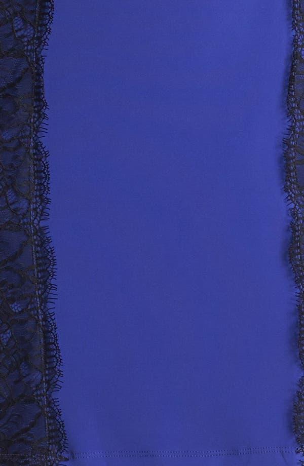 Alternate Image 3  - Isaac Mizrahi New York Lace Detail Jersey Sheath Dress