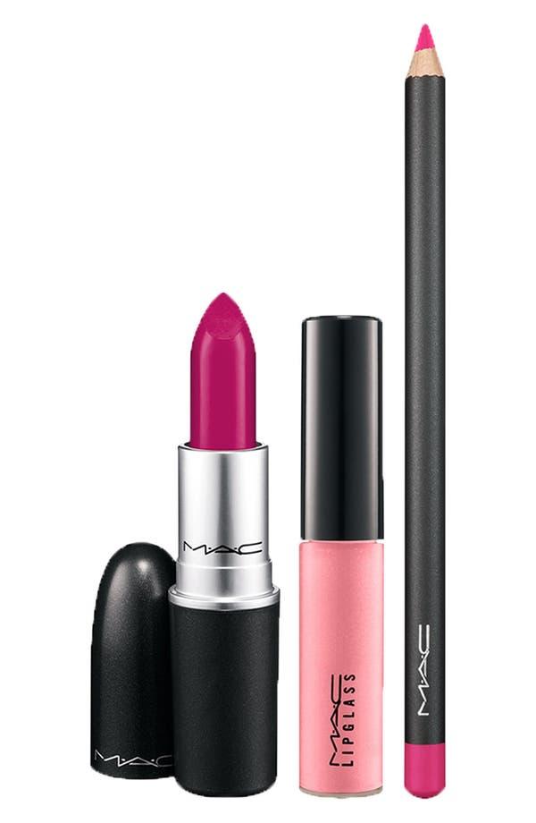 Alternate Image 2  - M·A·C 'Illustrated' Lip Bag (Pink) (Nordstrom Exclusive) ($81 Value)