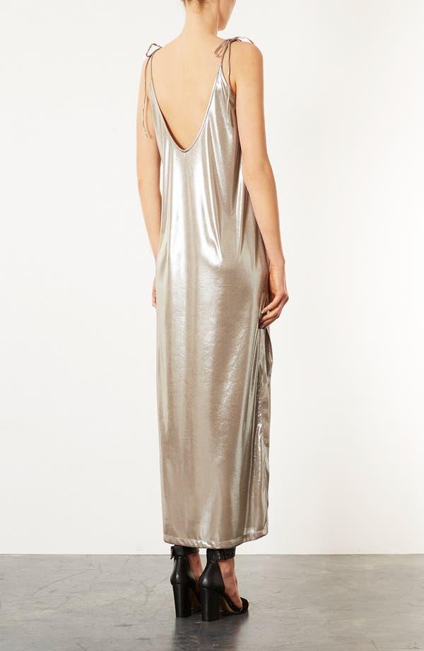 Alternate Image 2  - Topshop Scoop Back Maxi Dress