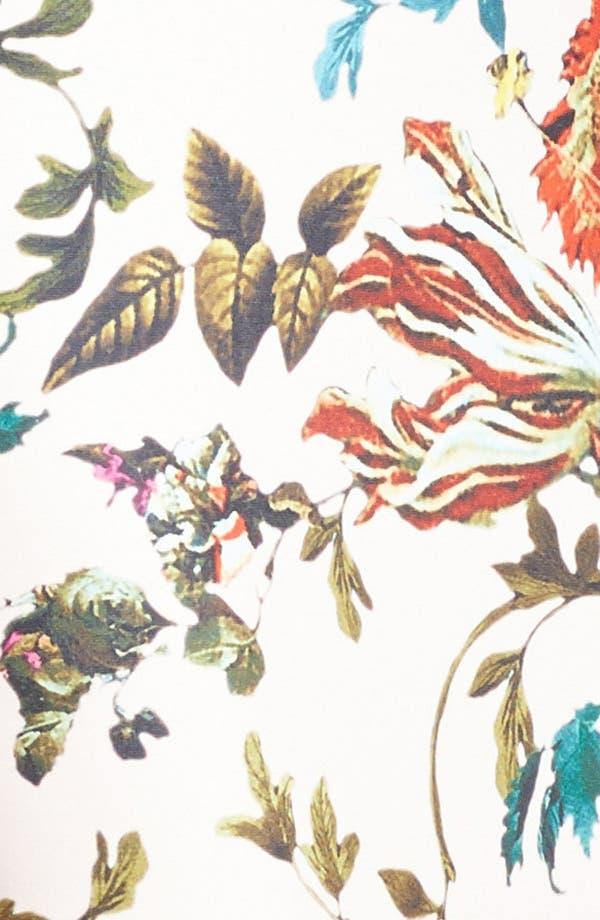 Alternate Image 3  - Ted Baker London 'Midsummer Floral' Stretch Jersey Midi Dress