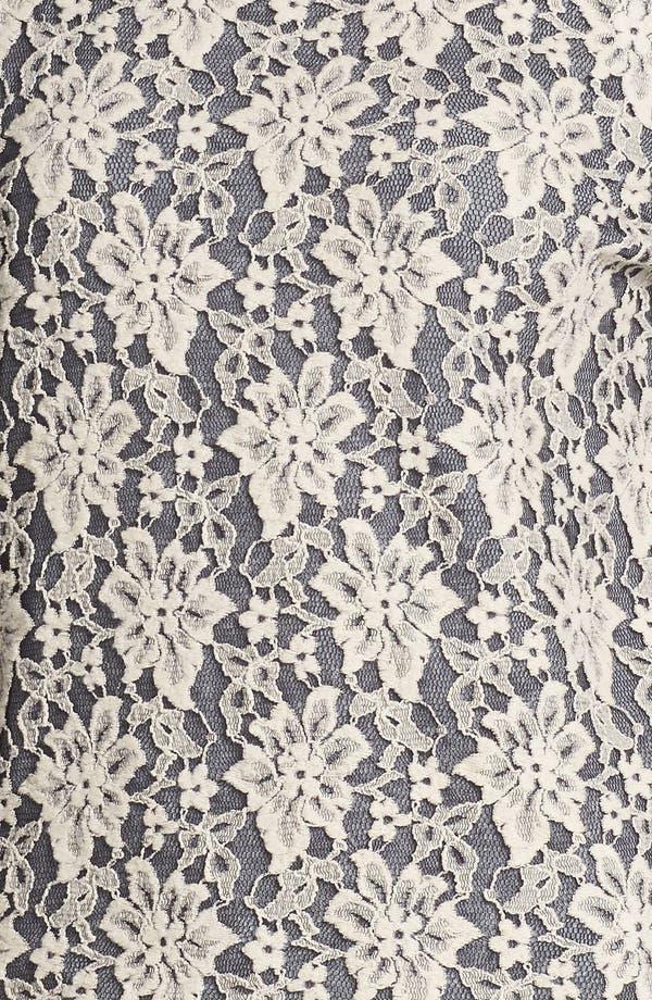 Alternate Image 3  - Hinge® Lace Overlay Sweatshirt