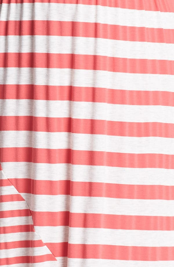 Alternate Image 3  - Olivia Moon Stripe Jersey Maxi Dress (Plus Size)