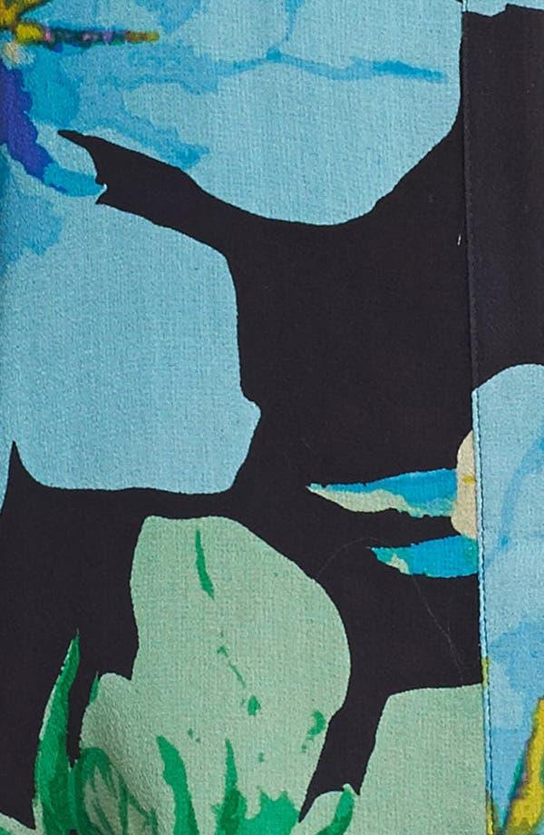 Alternate Image 3  - Ella Moss Print Silk Tank