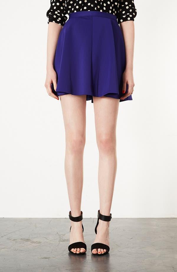 Alternate Image 1 Selected - Topshop Scuba Skater Skirt