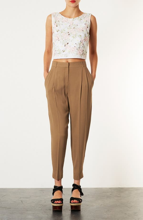 Alternate Image 4  - Topshop 'Mensy' Tapered Trousers