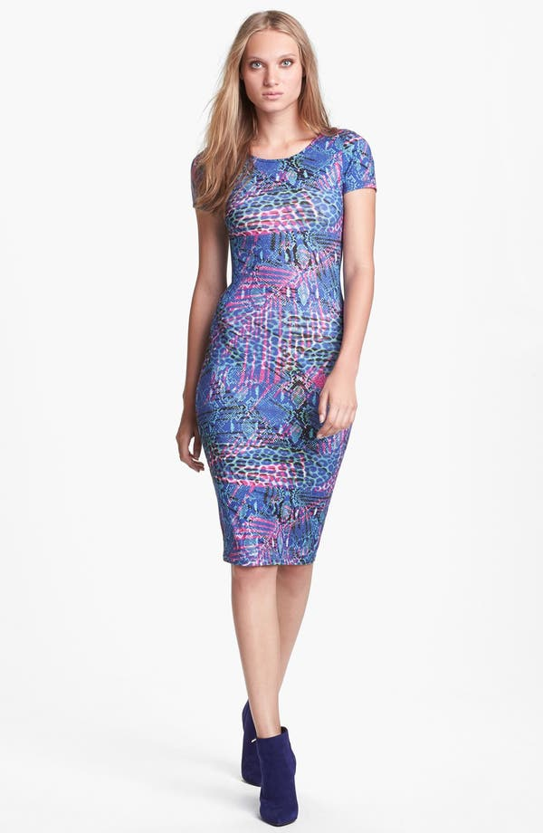 Alternate Image 1 Selected - WAYF Body-Con Midi Dress