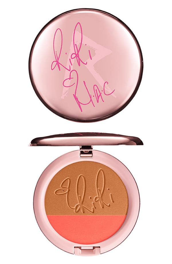 Alternate Image 1 Selected - Rihanna for M·A·C 'RiRi Hearts M·A·C - Hibiscus Kiss' Powder Blush Duo (Limited Edition)