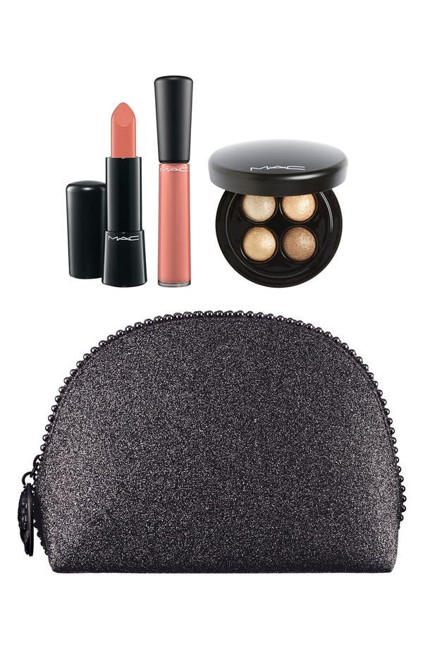 Alternate Image 1 Selected - M·A·C 'Keepsakes - Gold' Lip & Eye Bag (Nordstrom Exclusive)(Limited Edition) ($90 Value)