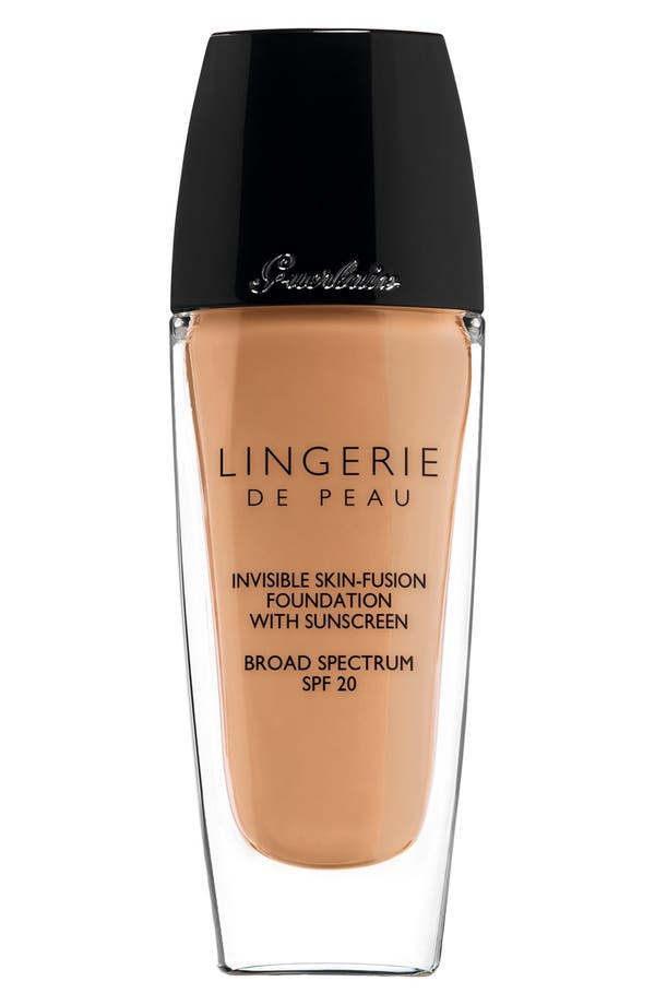 Alternate Image 1 Selected - Guerlain 'Lingerie de Peau' Invisible Skin-Fusion Foundation SPF 20