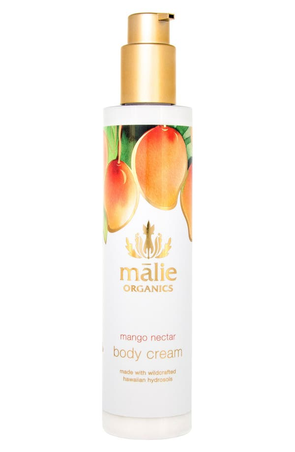 Alternate Image 1 Selected - Malie Organics Mango Nectar Organic Body Cream