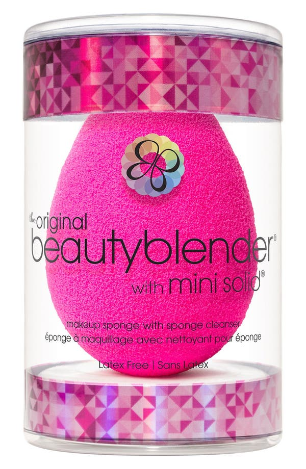 Alternate Image 2  - beautyblender® Makeup Sponge Applicator & Mini Cleanser Duo (Limited Edition) ($28 Value)