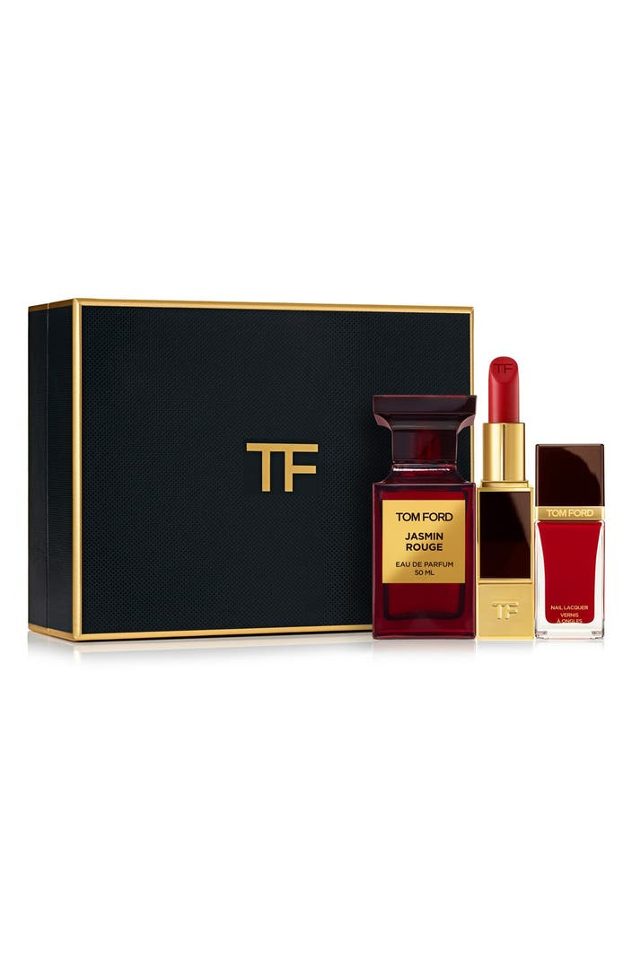 tom ford private blend 39 jasmin rouge 39 cosmetics set. Black Bedroom Furniture Sets. Home Design Ideas