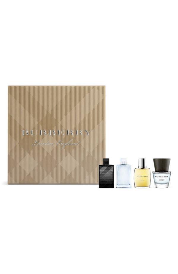 Main Image - Burberry Men's Miniature Fragrance Coffret