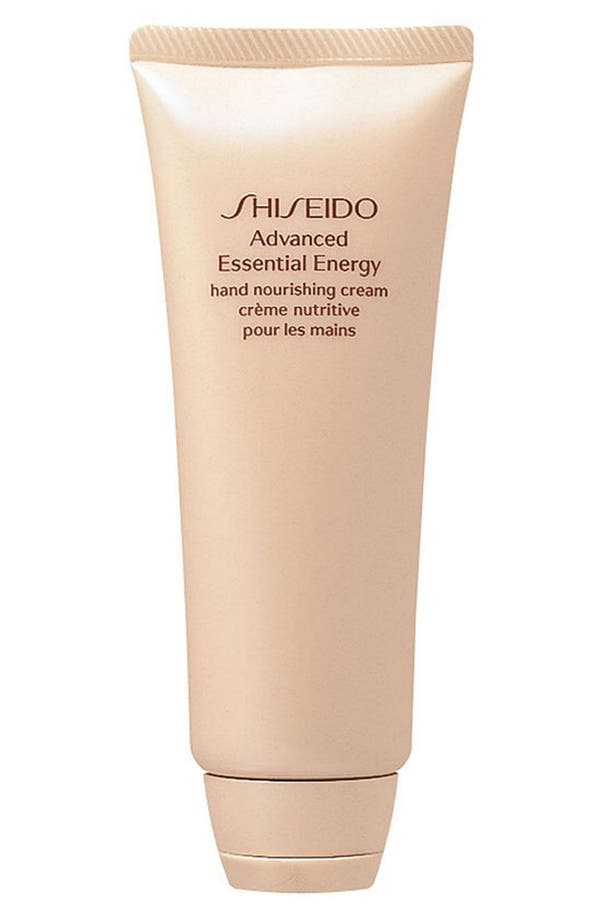 Main Image - Shiseido 'Advanced Essential Energy' Hand Nourishing Cream