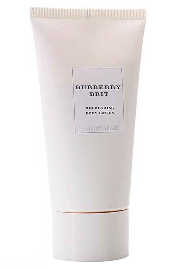 Alternate Image 1 Selected - Burberry Brit Refreshing Body Lotion