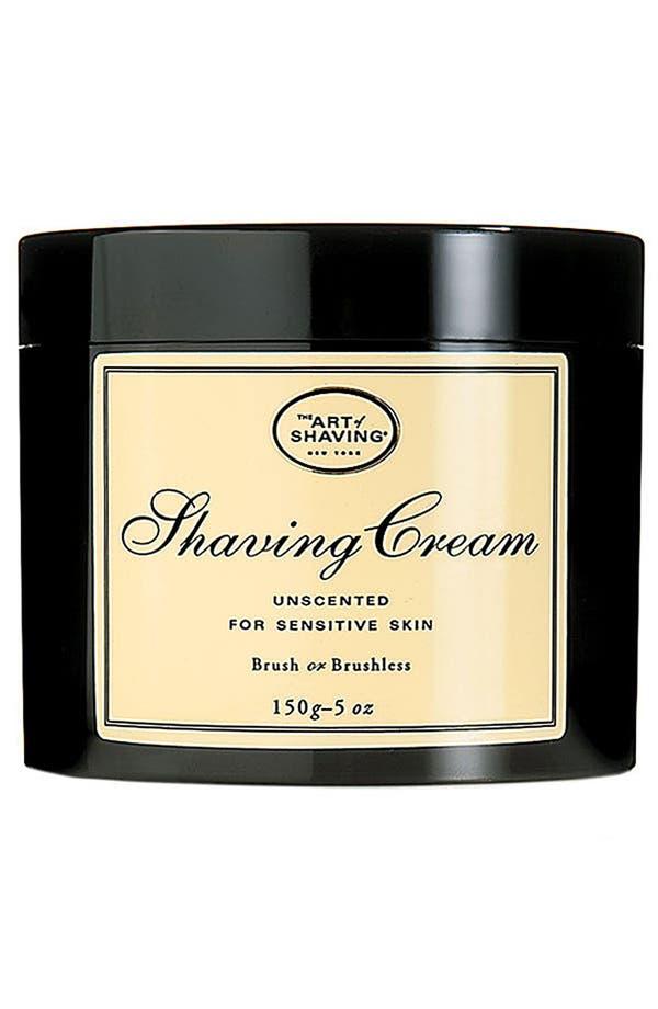 Alternate Image 1 Selected - The Art of Shaving® Unscented Shaving Cream